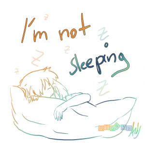 I'm not sleeping