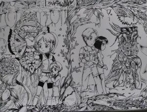 Resident Evil 2 - Fineliner