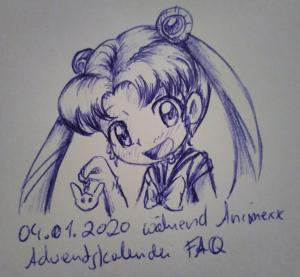 Sailor Moon Ballpen-Sketch