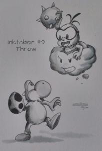 Inktober 9