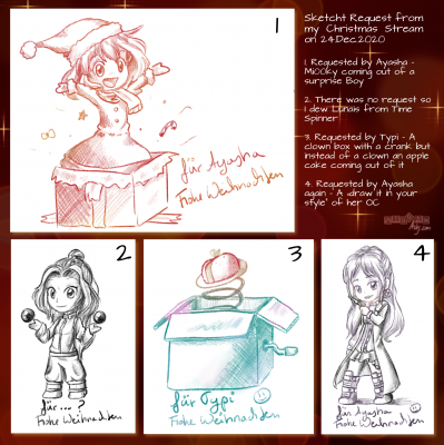 Christmas Sketch Request